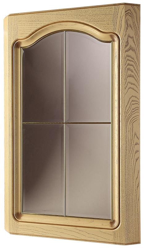 Фасад со стеклом трапецеидальный